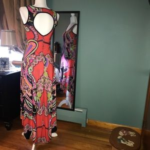 Dresses - Multi-colored high low dress
